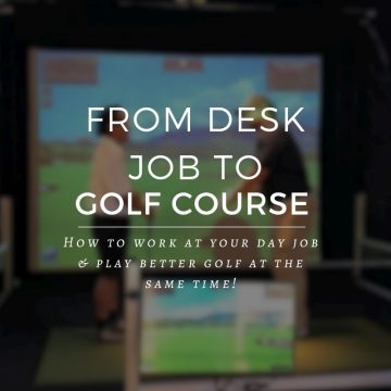 How To Squeeze in Golf Practice at Work!